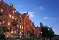 university, college, UVM, Burlington, Vermont, VT, University of Vermont campus in Burlington.