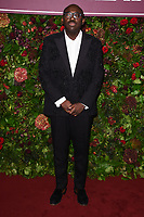 Edward Enninful<br /> arriving for the Evening Standard Theatre Awards 2019, London.<br /> <br /> ©Ash Knotek  D3539 24/11/2019