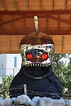 "March 20, 2016, Kagawa, Japan - The ""Beat Shrine/Anger from the bottom"", an installation art produced by Beat Takaeshi and Kenji Yanobe is displayed at Shodoshima island in Kagawa prefecture, Japan's southern island of Shikoku on Sunday, March 20, 2016 as a part of Setouchi Triennale 2016. Setouchi Triennale art festival started at islands of Setonaikai mediterranean sea from March 20 through November 6.  (Photo by Yoshio Tsunoda/AFLO) LWX -ytd-"