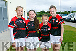 At the 4th annual Sandra Keane u/13 ladies football blitz in the John Mitchels sports complex on staurday were Orla Curran, Megan O'Donoghue, Chloe Breen, Fiona Nagle from Rathmore