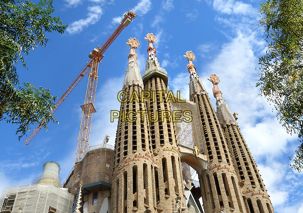 Gaudi's Sagrada Fam&iacute;lia basilica in Barcelona, Spain, on Wednesday September 16th 2015<br /> CAP/ROS<br /> &copy;ROS/Capital Pictures