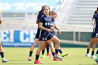 Cary, North Carolina  - Saturday April 29, 2017: Samantha Witteman prior to regular season National Women's Soccer League (NWSL) match between the North Carolina Courage and the Orlando Pride at Sahlen's Stadium at WakeMed Soccer Park.