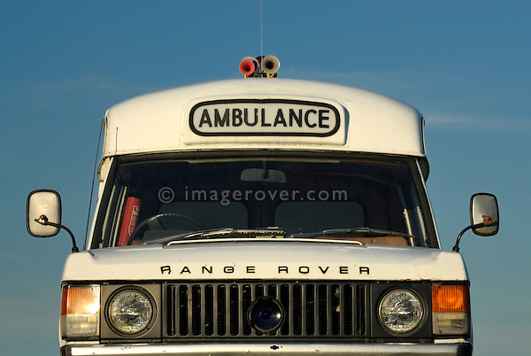 Range Rover Velar Ambulance Prototype. Dunsfold Collection Open Day 2009. NO RELEASES AVAILABLE.