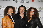 As The World Turns' Tamara Tunie poses with Federico Castelluccio (Sopranos) at the Figure Skating in Harlem  - the 2011 Skating with the Stars on April 4, 2011 at Wollman Rink, Central Park, New York City, New York. (Photo by Sue Coflin/Max Photos)