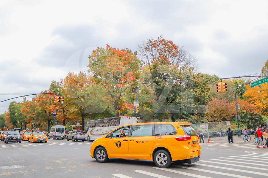 NOVA YORK, EUA, 02.11.2018 - TURISMO-EUA - Vista do Central Parque no outono de 2018 na cidade de Nova York nos Estados Unidos nesta sexta-feira, 02. (Foto: William Volcov/Brazil Photo Press)