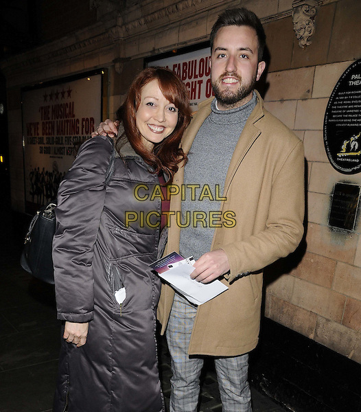 LONDON, ENGLAND - JANUARY 26: Amy Ansell &amp; Paul Taylor-Mills attend the &quot;A Little Night Music&quot; gala performance, Palace Theatre, Shaftesbury Avenue, on Monday January 26, 2015 in London, England, UK. <br /> CAP/CAN<br /> &copy;Can Nguyen/Capital Pictures