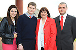Ales Lewis with his family, Susan, Megana nd Mark.Donacarney Confirmation 2013.Picture: Fran Caffrey www.newsfile.ie.