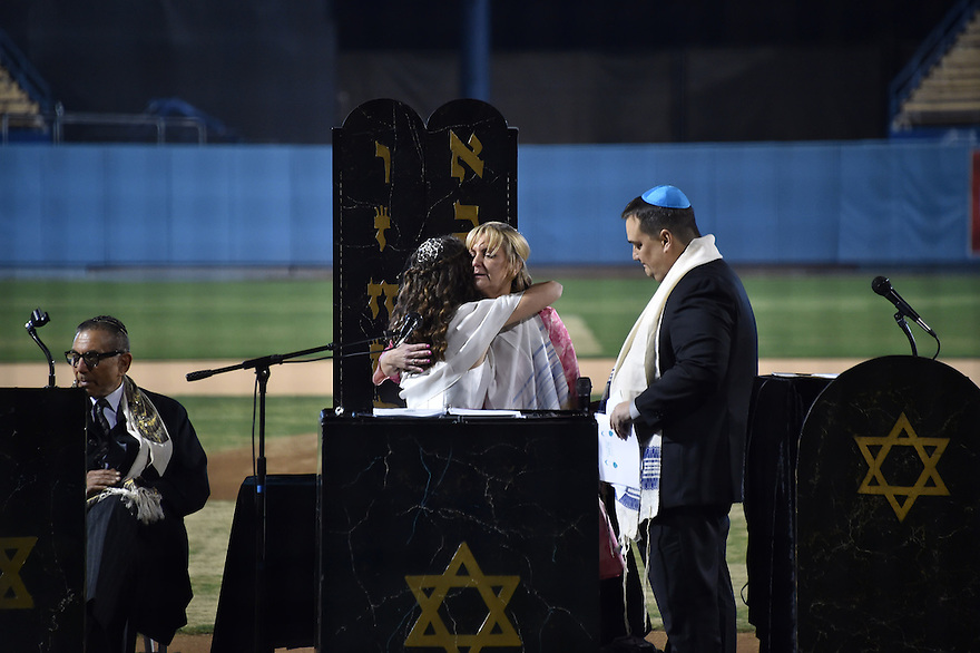 Emma Blumen Batmitzvah Saturday, January 9, 2016 at Dodger Stadium. Photo by © Jon SooHoo/ 2016