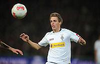 FUSSBALL   1. BUNDESLIGA    SAISON 2012/2013    9. Spieltag   Hannover 96 - Borussia Moenchengladbach         28.10.2012 Patrick Herrmann (Borussia Moenchengladbach) Einzelaktion am Ball