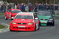 2001 British Touring Car Championship #5 Jason Plato. Vauxhall Astra Coupe, Vauxhall Motorsport. 888 Race Engineering.