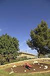 Israel, the knesset building in Jerusalem
