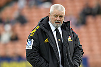 5th July 2020; Hamilton, New Zealand;  Warren Gatland, Chiefs head coach.<br />