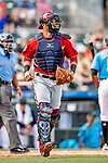 1 March 2019: Washington Nationals catcher Yan Gomes in action during a Spring Training game against the Miami Marlins at Roger Dean Stadium in Jupiter, Florida. The Nationals defeated the Marlins 5-4 in Grapefruit League play. Mandatory Credit: Ed Wolfstein Photo *** RAW (NEF) Image File Available ***
