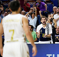 2019.10.03 EuroLeague Real Madrid Baloncesto VS Fenerbache