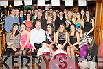 Nicole McEllistrim Castleisland seated centre celebrates her 18th birthday with her family and friends in Con's bar, Castleisland on Saturday night..
