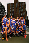 "The ""Skip to my Lou"" squad on September 1, 2006 at Rucker Park in New York, New York.  Pictured standing left to right are DeAndre Jordan, Tyreke Evans, Devin Ebanks, Anthony Randolph, Jerryd Bayless, Lance Stephenson, Cole Aldrich, Gary Johnson and Nolan Smith.  Pictured squatting left to right are Michael Beasley, Senario Hillman and Austin Freeman.  The players were in town for the Elite 24 Hoops Classic, which brought together the top 24 high school basketball players in the country regardless of class or sneaker affiliation."