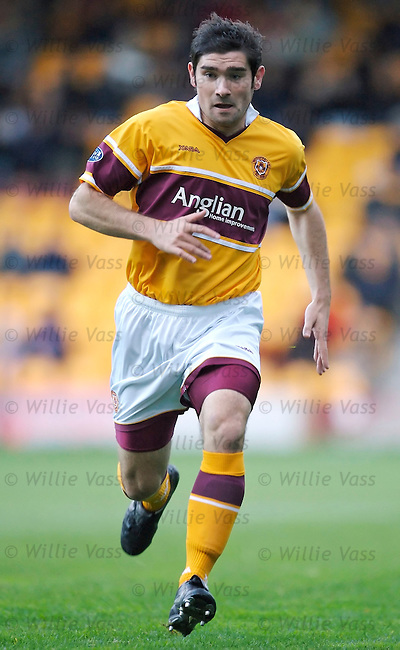 Jim Paterson, Motherwell.stock season 2006-2007.pic willie vass