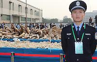 Ivory Crushed, China
