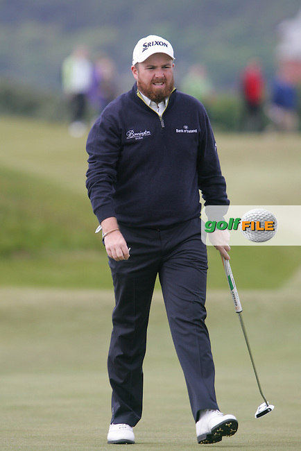 Shane LOWRY (IRL) walking up the 1st during round 3 of the 2015 Dubai Duty Free Irish Open hosted by the Rory Foundation, Royal County Down Golf Club, Newcastle Co Down, Northern Ireland. 30/05/2015<br /> Picture TJ Caffrey, www.golffile.ie