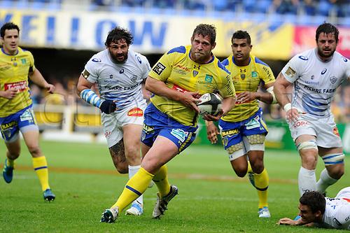 10.05.2014. Clermont-Ferrand, Auvergne, France. Top 14 Rugby Union. Clermont Ferrand versus Castres .  Vincent Debaty (clermont)