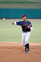 Robel Garcia - AZL Indians - 2010 Arizona League. .Photo by:  Bill Mitchell/Four Seam Images..