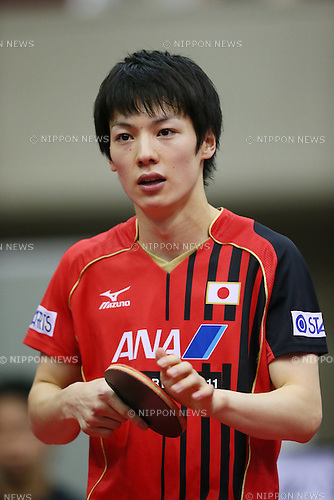 Kenta Matsudaira (JPN), <br /> JUNE 21, 2013 - Table Tennis : <br /> 2013 ITTF World Tour <br /> Japan Open 2013 <br /> Men's Singles <br /> at Yokohama Cultural Gymnasium, Kanagawa, Japan. <br /> (Photo by YUTAKA/AFLO SPORT) [1040]