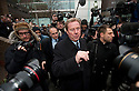 Harry Redknapp and Milan Mandaric tax evasion trial - juror considering verdicts today 8.2.12.Harry Redknapp winks at well wishers and then shakes hands as he leaves after winning his case...Pic by Gavin Rodgers/Pixel 8000 Ltd