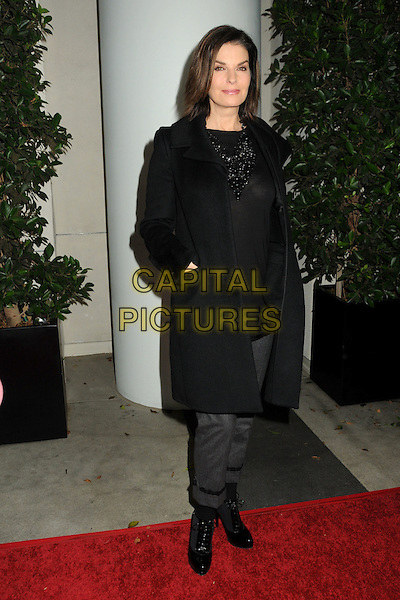 SELA WARD.TV Guide Magazine's 2010 HOT LIST Party held at Drai's at the W Hotel, Hollywood, California, USA..November 8th, 2010.full length top jacket boots hands in pockets black necklace .CAP/ADM/BP.©Byron Purvis/AdMedia/Capital Pictures.