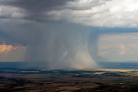 Rainshower. Rye, Colorado