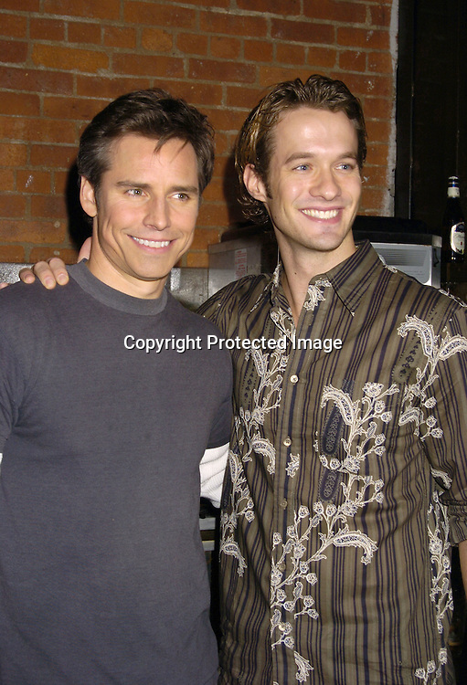 Dan Gauthier and Matt Metzger ..at the Stockings With Care Benefit for  Toys for Tots at ..Freight in New York City on November 10, 2004 ...Photo by Robin Platzer, Twin Images