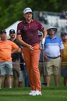 Ian Poulter (GBR) watches his tee shot on 3 during round 2 of the 2019 Charles Schwab Challenge, Colonial Country Club, Ft. Worth, Texas,  USA. 5/24/2019.<br /> Picture: Golffile   Ken Murray<br /> <br /> All photo usage must carry mandatory copyright credit (© Golffile   Ken Murray)