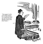 """""""Your supper's in the oven. Walter Gabriel has straightened things out with Ned, but Ena Sharples suspects that Elsie Tanner..."""""""