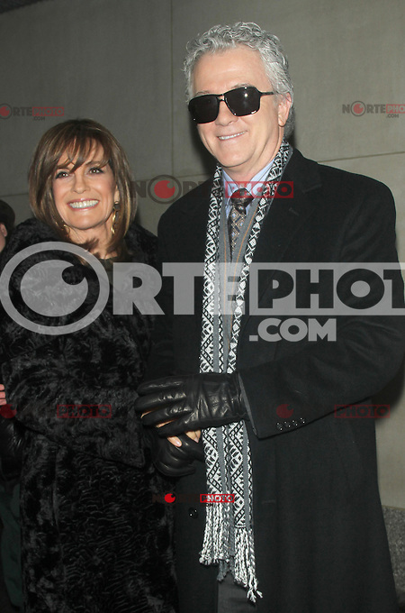 NEW YORK, NY - JANUARY 28: Linda Gray and Patrick Duffy at NBC'S Today Show in New York City promoting the new season of Dallas. January 28, 2013. Credit: RW/MediaPunch Inc. /NortePhoto /NortePhoto