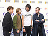 O2 Silver Clef Awards and lunch in aid of Nordoff Robbins 3rd July 2015 at Grosvenor House Hotel, Park Lane, London, Great Britain <br /> <br /> Red carpet arrivals <br /> <br /> Kasabian <br /> <br /> Photograph by Elliott Franks<br /> <br /> 2015 &copy; Elliott Franks