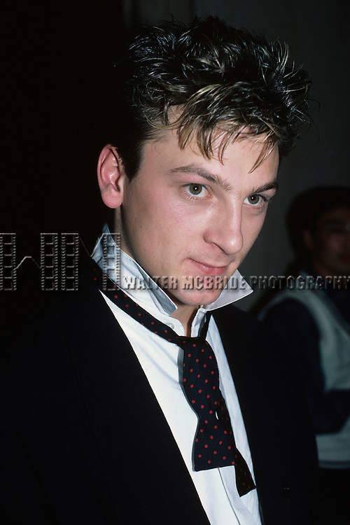 Mark O'toole of Frankie Goes to Hollywood pictured in New York City in November, 1984.