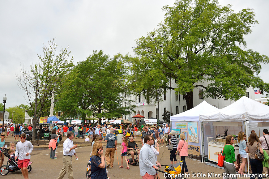 2015 Double Decker Festival.  Photo by Kevin Bain/Ole Miss Communications