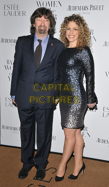Sir Trevor Nunn &amp; guest attend the Harper's Bazaar Women of the Year Awards 2015, Claridge's Hotel, Brook Street, London, England, UK, on Tuesday 03 November 2015. <br /> CAP/CAN<br /> &copy;CAN/Capital Pictures