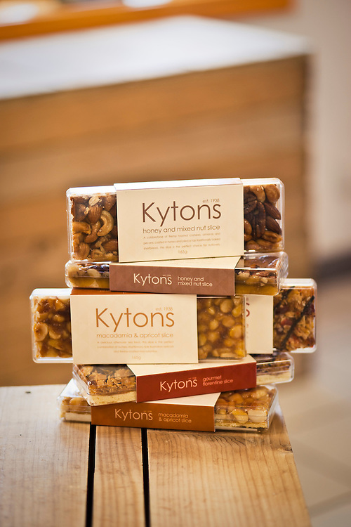 Sharon Sutton and her team at Kytons bakery Finalists in the Premiers food awards famous for their Lamingtons and Hot cross buns.