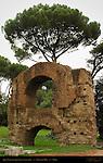 Aqua Claudia aqueduct extension Nero 64 AD Palatine Hill Rome