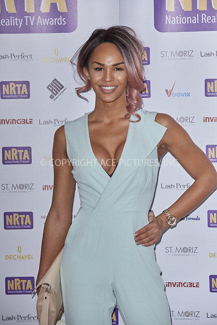 www.acepixs.com<br /> <br /> September 18 2017, London<br /> <br /> Talulah-Eve Brown arriving at the National Reality TV Awards 2017 at Porchster Hall on September 18 2017 in London<br /> <br /> By Line: Famous/ACE Pictures<br /> <br /> <br /> ACE Pictures Inc<br /> Tel: 6467670430<br /> Email: info@acepixs.com<br /> www.acepixs.com