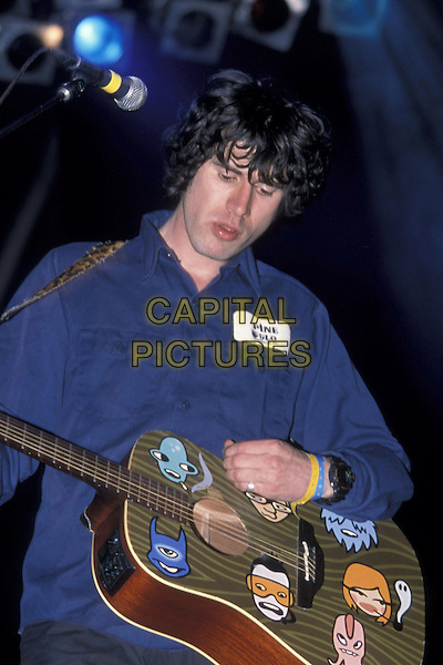 SUPER FURRY ANIMALS.13 July 1998.half length guitar gig music on stage concert.ref:7593.www.capitalpictures.com.sales@capitalpictures.com.©Capital Pictures