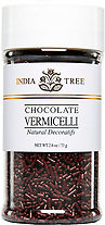 10519 Natural Chocolate Vermicelli, Small Jar 2.6 oz