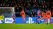 31st October 2017, St Jakob-Park, Basel, Switzerland; UEFA Champions League, FC Basel versus CSKA Moscow; Pontus Wernbloom of CSKA Moscow scores in the 79th minute to make it 2-1