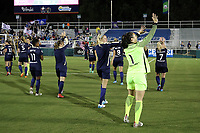 Cary, NC - Saturday April 22, 2017: Sabrina D'Angelo after a regular season National Women's Soccer League (NWSL) match between the North Carolina Courage and the Portland Thorns FC at Sahlen's Stadium at WakeMed Soccer Park.