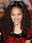 "HOLLYWOOD, CA. - November 17: Actress Madison Pettis arrives at the World Premiere of Walt Disney's ""Bolt"" at the El Capitan Theatre on November 17, 2008 in Hollywood, California..."