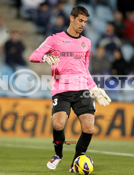 Real Valladolid's Dani Hernandez during La Liga match.November 18,2012. (ALTERPHOTOS/Acero)