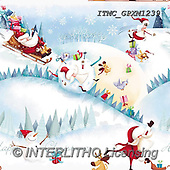 Marcello, GIFT WRAPS, GESCHENKPAPIER, PAPEL DE REGALO, Christmas Santa, Snowman, Weihnachtsmänner, Schneemänner, Papá Noel, muñecos de nieve, paintings+++++,ITMCGPXM1239,#GP#,#X#