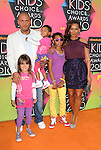 LOS ANGELES, CA. - March 27: Melanie Brown and family arrive at Nickelodeon's 23rd Annual Kid's Choice Awards at Pauley Pavilion on March 27, 2010 in Los Angeles, California.