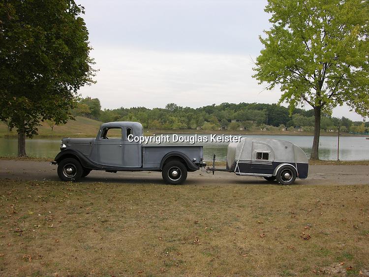 Tin Can Tourists Rally at Camp Dearborn Michigan September 2004
