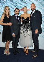 NEW YORK, NY-June 21: Lynn Harris, Jaume Collet-Serra, Blake Lively, Matti Leshem at the World Premiere of Columbia Pictures The Shallows at the AMC Loews Lincoln Square 13  in New York. NY June 21, 2016. Credit:RW/MediaPunch